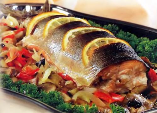 рыба  зечененая