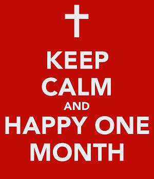 держаться 1 месяц