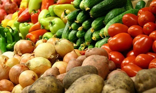 есть овощи